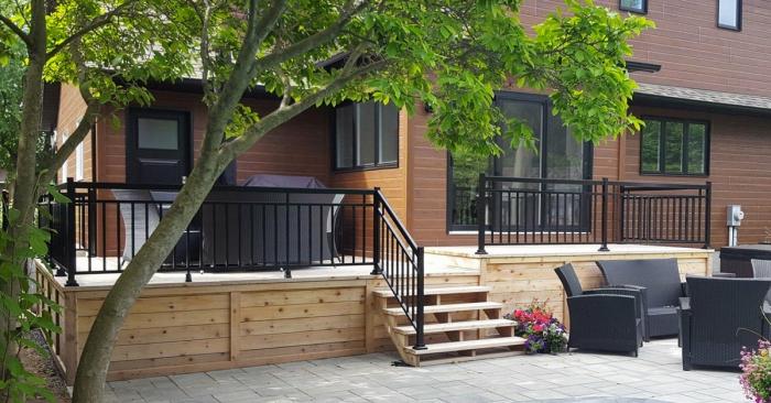 Trouvez votre rampe de patio idéale