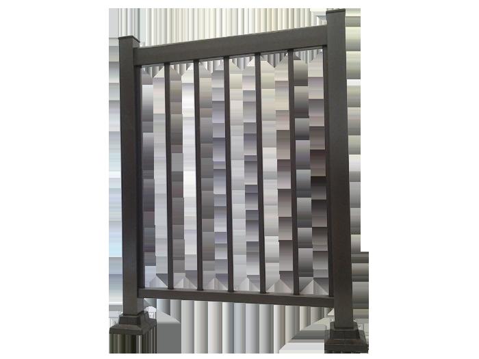 Rampe aluminium Standard - Balcons Verdun